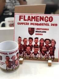 Kit caricatura Flamengo