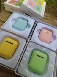 Fone De Ouvido Sem Fio Bluetooth AirPods I12 Touch 5.0