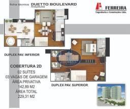 Cobertura Duplex com 2 suítes à venda, 142 m² por R$ 718.200 - Icaray - Araçatuba/SP