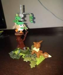 Mega Construx Pokémon Rowlet vs Eevee