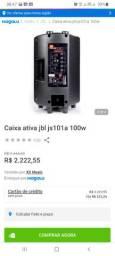 Caixa de som amplificada jbl