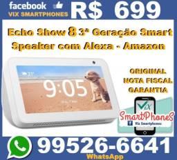 Amazon smart speaker echo show 8 caixa lacrada //* 1213spdpl//*