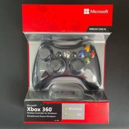 Controle Xbox 360 sem fio Original Novo