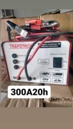 Carregador de bateria 300A20H_varejo e atacado entrega a domicílio João pessoa e região
