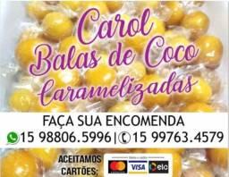 BALAS DE COCO ( BALA BAIANA)