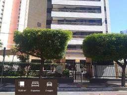 AP2124 - Aluga Apartamento mobiliado no Bairro do Cocó, com 3 quartos e 2 vagas.