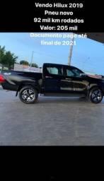 Hilux 4x4 2.8 Diesel 2019