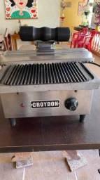 Chapa Sanduicheira Elétrica Com Chapa Estriada 220v Croydon - USADA
