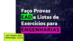 Garanta seu notão! Fazemos Provas EAD, Listas de Exercícios e Atividades Acadêmicas