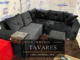 Garanta já lindo sofá de canto