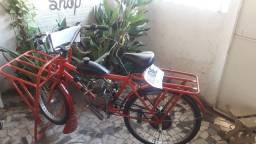Bicicleta motorizada de carga