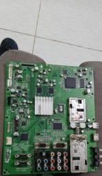 Placa principal e placa da fonte TV lg 47 polegadas