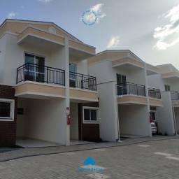 Casas duplex condomínio fechado no Tabapuá - Caucaia
