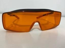 Óculos bloqueador luz azul - laranja - lair ribeiro