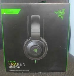 Headset Gamer Razer Kraken Essential, Perfeito, somente para celular.