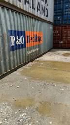 Linha de container marítimo