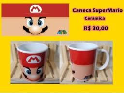 Caneca Super Mário