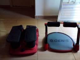 2 aparelhos de ginastica
