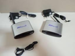 Transmissor de áudio e vídeo