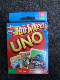 Jogo Uno Hotwheels