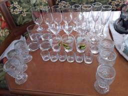 Conjunto de copos variados