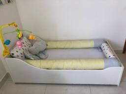 Mini cama e colchão ortobom