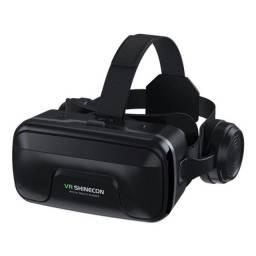Óculos de Realidade Virtual VR 3D Shinecon 10.0 e Controle