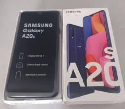 SAMSUNG A20S 32GB AZUL NOVO