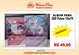 Álbum para 200 Fotos 10x15