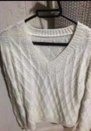 Blusa de frio em tricô nova promoção