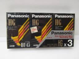 3Fitas VHS lacradas