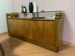 Buffet em madeira 1,80x0,80x0,45 lindo móvel