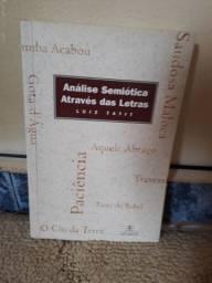 Livro Análise Semiótica Através das Letras