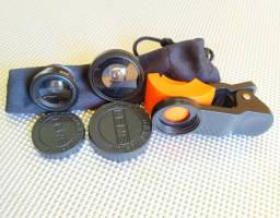 Kit lentes universal para celular