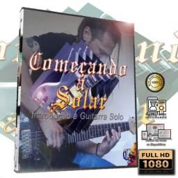 Título do anúncio: Curso de Guitarra Começando a Solar (2021)