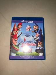 DVD Blu-ray 3D Gnomeu e Julieta