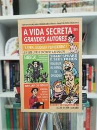 """""""A Vida Secreta dos Grandes Autores"""" por Robert Schnakenberg Em Ótimo Estado"""