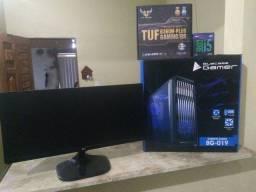 Computador 9 geração + monitor (sem Placa de vídeo)