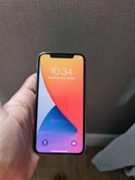 Iphone X branco, 256 Gb de memória