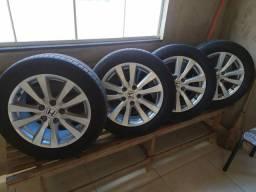 Jogo de rodas e pneus aro 16