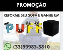 REFORME SEU SOFÁ E GANHE UM PUFF