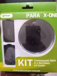 Kit Para XBOX-ONE Carregador + 2 Baterias