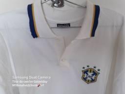 Camisa polo do Brasil comerativa copa de 98