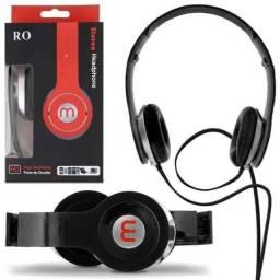 Fone Ouvido Estéreo Headphone Dobrável Com Fio Celular Mex S