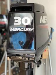 Motor De Popa Mercury 30hp MH Japão 2 Tempo