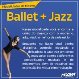Aulas de Ballet + Jazz (Adulto)