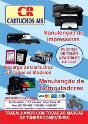 Manutenção em computadores, notebooks e impressoras
