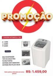 Lavadora automática 12kg promoção única barato