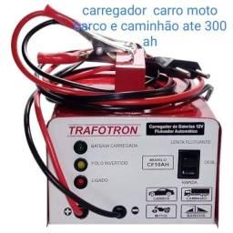 Carregador bateria carro moto caminhão