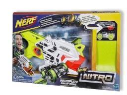 Nerf Lançador Hasbro Nitro Aerofury Com 2 Carros E Rampa!